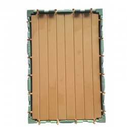 Suelo steck de madera 3x2